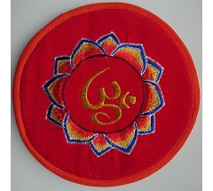 Cushion for Singing bowls, Velvet, Embroidary, MCE Standard - 14 cm-Medium Size