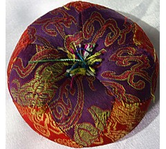 Cushion for Singing Bowls-Thick Round - Small Size