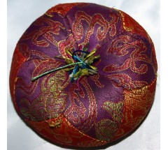 Cushion for Singing Bowls-Thick Round - LARGE Size