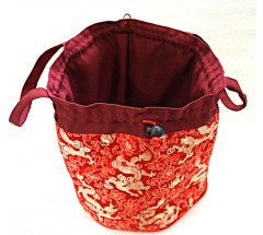 Solid Carry Bag  for Singing Bowls - Medium Size