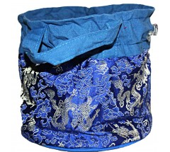 Solid Carry Bag  for Singing Bowls - Large Size
