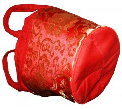 Solid Carry Bag  for Singing Bowls - Extra Large Size