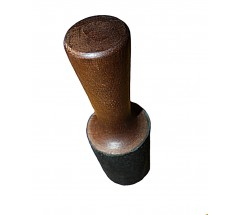 RINGER - CONIC, Wooden, wrapped with leather - SMALL Size