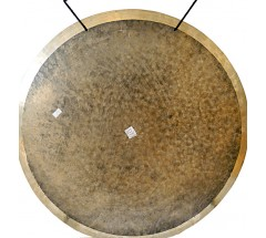 SUN - Healing, Planetary, Therapeutic Spotted GONG - Large Size