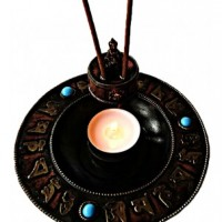 Incense and candle burner