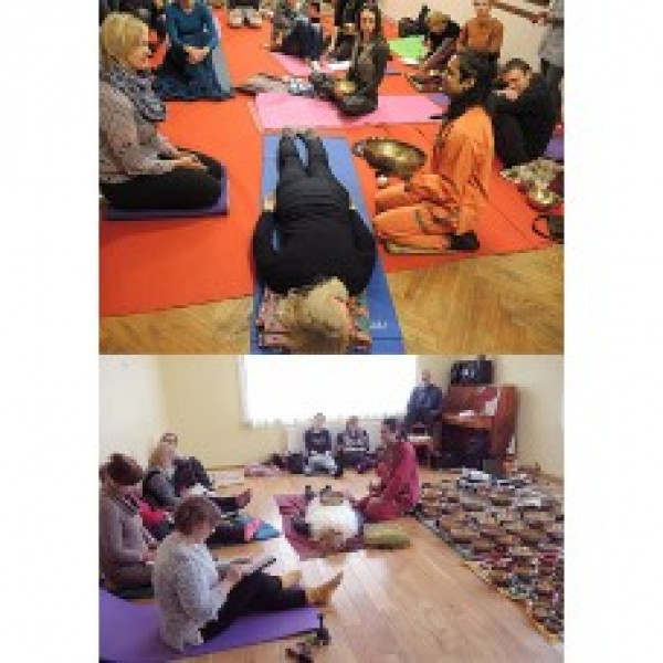 First level Professional Planetary, Therapeutic Singing bowl sound Therapy 13-14 July 2019